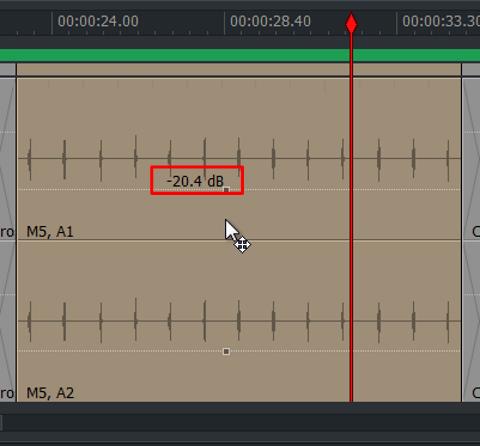 audio クリップ音量02