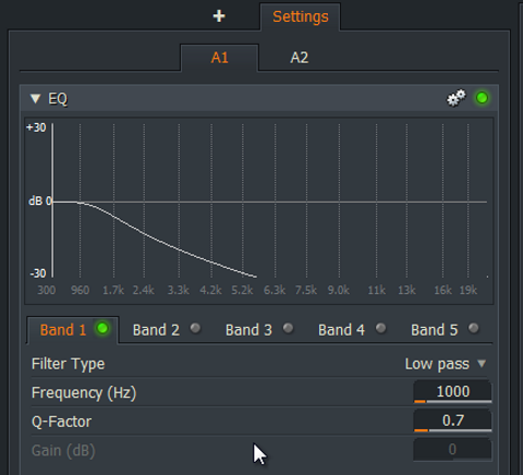 audio EQ